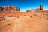 Amazing landscape of Monument Valley on a sunny summer afternoon - 248693569