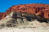 Geological formations in Ischigualasto