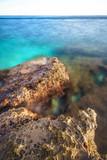 Küste von Kroatien Langzeitbelichtung