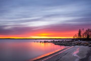 Sunset in Sweden © omar