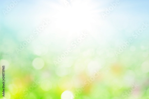 abstract spring background with bokeh © Mariusz Blach