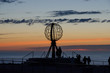 Globe monument at the North Cape