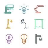 lamp icons - 248806365