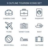 9 tourism icons - 248808319