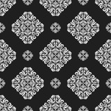 Orient vector classic pattern. Seamless abstract background with vintage elements. Orient black and white background. Ornament for wallpaper and packaging - 248824713