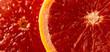 macro of red grapefruit - 248827336