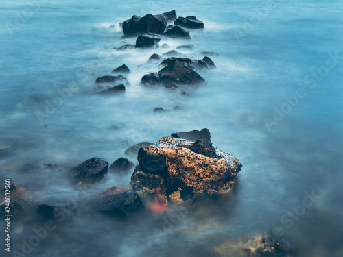 Foto Murales Long Exposure Moody Rocks