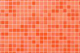 Living coral 2019 trendy color  stoneware tile pattern - 248848768