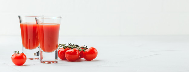 Bloody Mary Cocktail in glasses © Irina Burakova