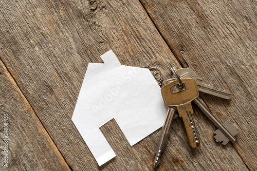 House icon and keys - 248889155