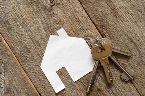 Zobacz obraz House icon and keys