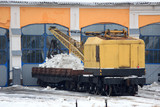 railway equipment for special purposes. repair, cleaning and loading. care of the railway, service