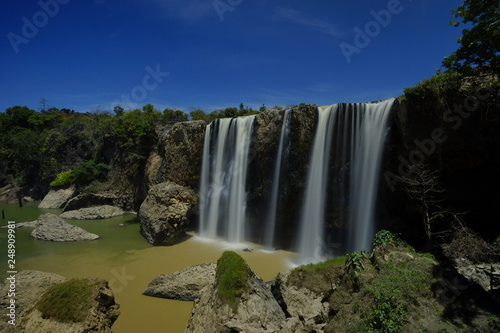 natural waterfall in vietnam - 248909981