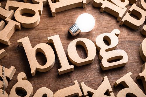 Blog Wood Word - 248910133