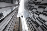 building  immeuble perspective moderne affaire tour travail gratte ciel avenir ville quartier construction - 248910380