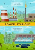 Eco energy power and nuclear plant, water dum - 248921950