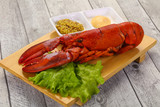 Luxury Lobster with sauce