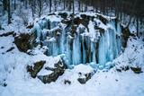 Waterfalls in Sonognio, Switzerland