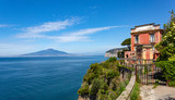 morning view  Gulf of Naples,