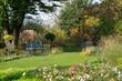 Leinwanddruck Bild - Herbst im Kreislehrgarten