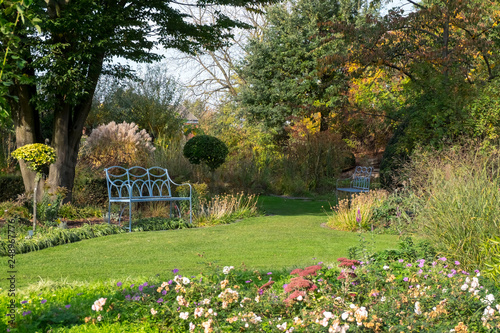 Leinwanddruck Bild Herbst im Kreislehrgarten
