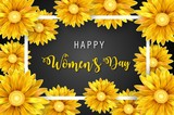 Women's Day, March 8. Happy Mother's Day