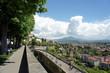 Upper City and Lower City of Bergamo.Italy.  - 248986906