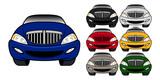 Cartoon Luxury Car Vector