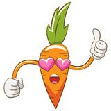 carrot vector clipart