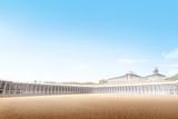 Beautiful mosque in desert - 248996769