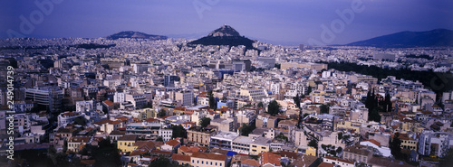 View from Akropolis, Athens, Greece - 249014739