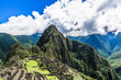 Clouds over the ruins of Machu Picchu