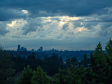 Seattle Skyline Sunset - 249033502