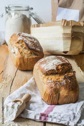 Foto Murales Roggenbrot, Brot
