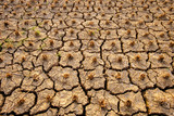 The abstract of the cracks of the ground according to the tropical climate - 249094507