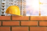 Bricklayer constructor architecture background block brick bricklaying