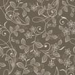 Seamless flowers wallpaper pattern - 249120756