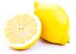 Zitronen auf weissem Hintergrund