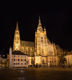 St. Vitus Cathedral in Prague - 249133130
