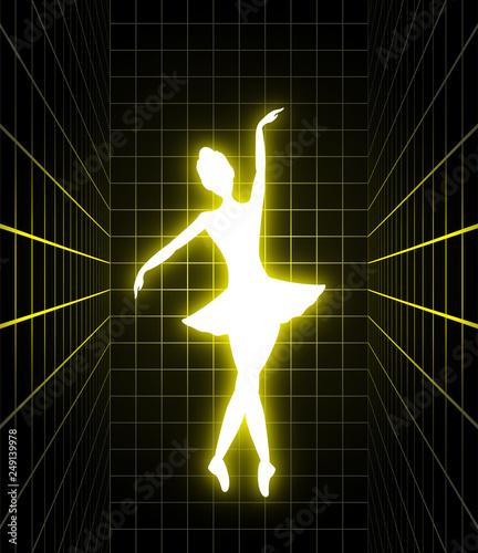 Lighting dancer illustration - 249139978