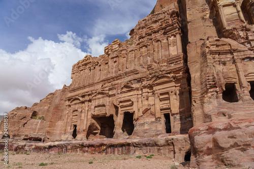 Palace tomb in Petra, Jordan © arkady_z