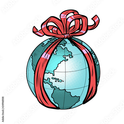 planet earth holiday gift