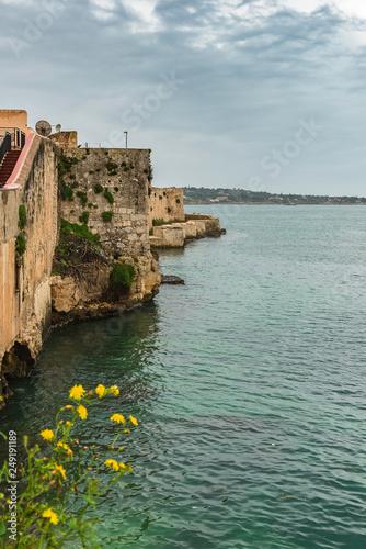 Le coste siciliane di Ortigia, tra storia e mare © silvia
