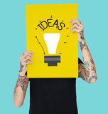 Design Ideas Invent Knowledge Icon
