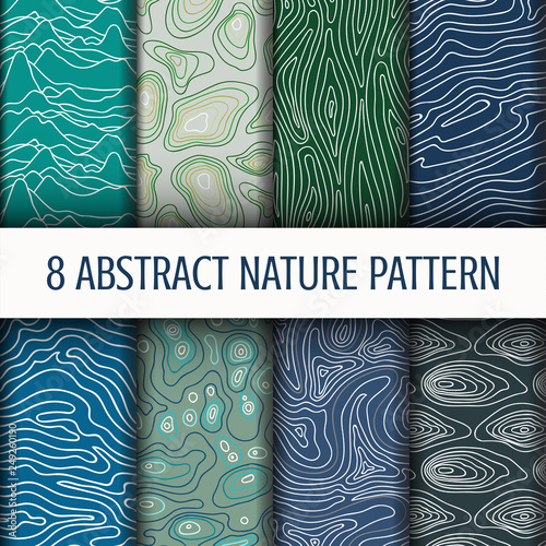 Set Abstract Nature pattern