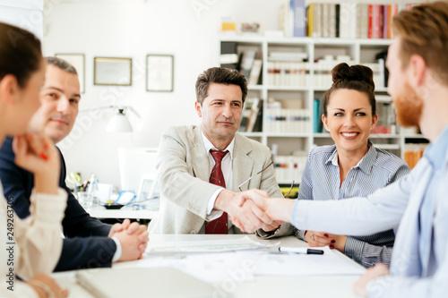Agreement between company representatives