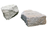 Two big stone on grass - 249282344