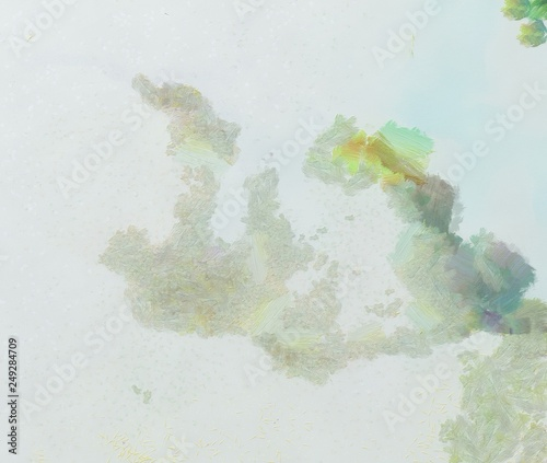 Abstract art painted texture background. Textured oil strokes and splashes on canvas. Simple creativity pattern for design. Close up macro palette in mixed colors. Original grunge backdrop. © Alexandr