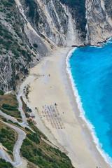 Green hills and blue water, Greece, Kefalonia © Jason
