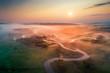 Leinwanddruck Bild - Spring colorful landscape